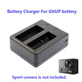 Free Shipping!!GitUP Git2 Sport Camera 950mAh Backup Rechargable Li-on Battery Charger For DV AC Adapter
