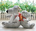 Large size 20'' tall Free Shipping Plush Toy Original Quality the most funny bear stuffed animals cute toys friends kids gifts