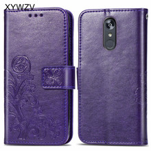 For LG Stylo 5 Case Shockproof Flip Wallet Soft Silicone Phone Card Holder Fundas Back Cover