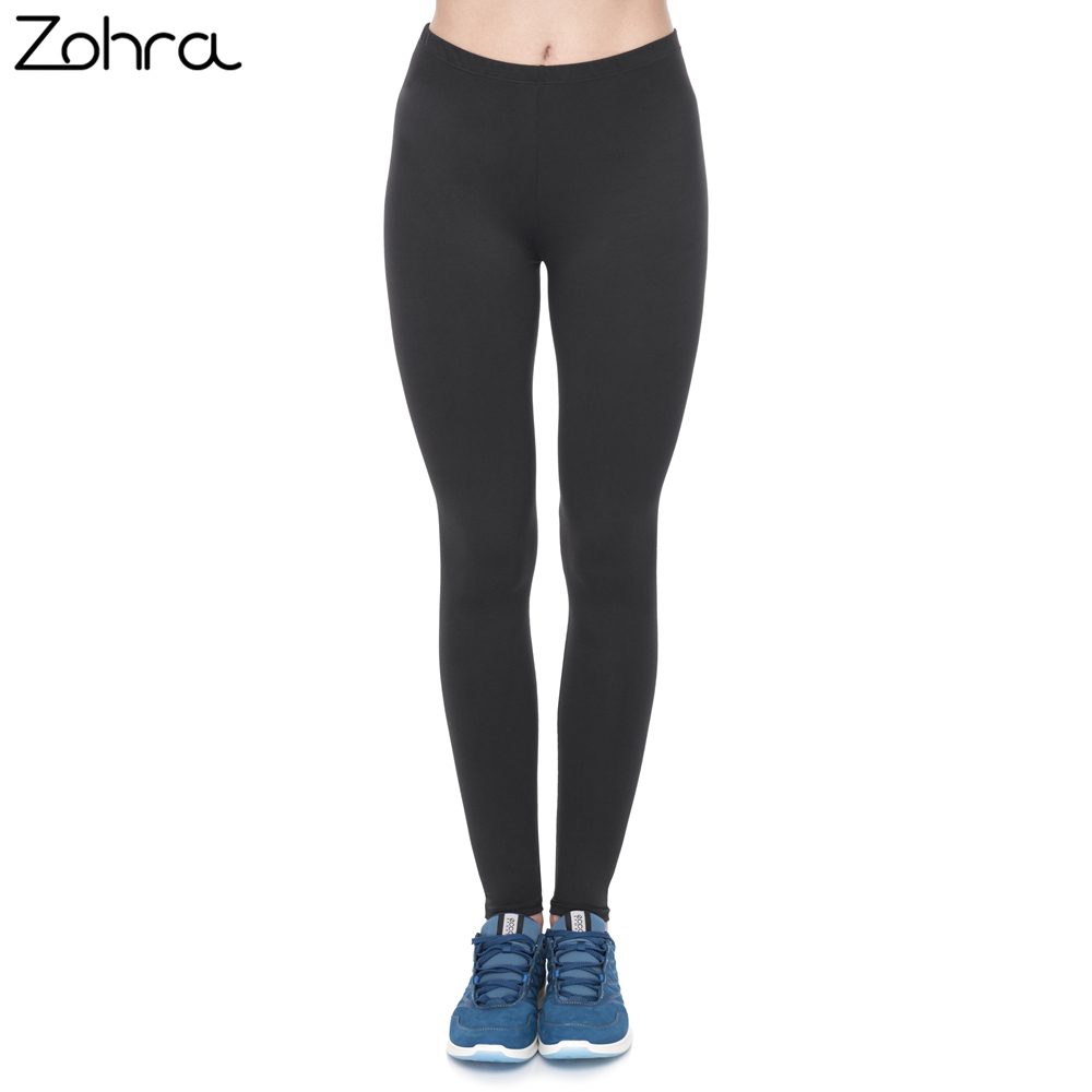 Zohra Fashion Women   Legging   Black Fitness   Leggings   Casual Durable Woman Pants