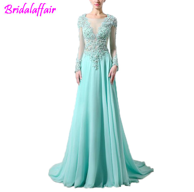 Elegant Embroidered Floral Tulle Long Party   Dresses   Maxi Western Style   Prom     Dress   saty ladies   dresses   2018 special occasion