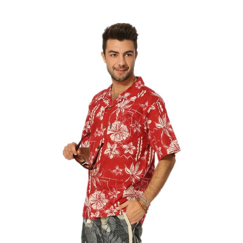 Havajske majice s potiskom Velika bombažna majica s kratkimi rokavi - Moška oblačila - Fotografija 5