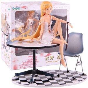 Bakemonogatari Oshino Shinobu 12 Years Ver. 1/8 Scale Pre-Painted Figure PVC Monogatari Action Figure Collectible Model Toy(China)