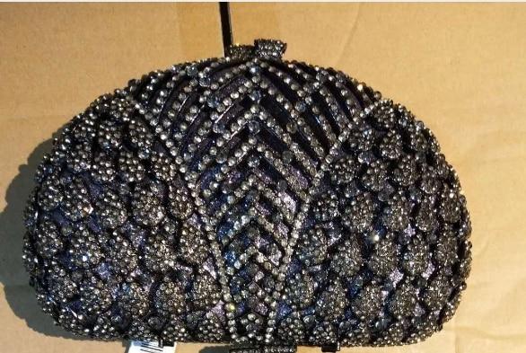 À Fleur Sacs Main Toilette Livre Mariage Robe Diamant Noir De D'embrayage 10255 Soirée Chaliwini Cristal Portefeuille Black Luxe Paquet qw1gpSHZ