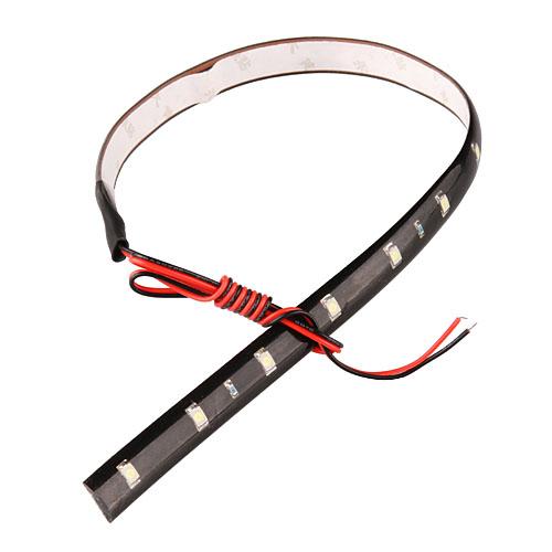 Prix pour 100X30 CM led bandes 3528 patch de voiture 1210 smd 15 LED bande châssis article souple lampe trafic lumière de roue Blanc rouge bleu jaune