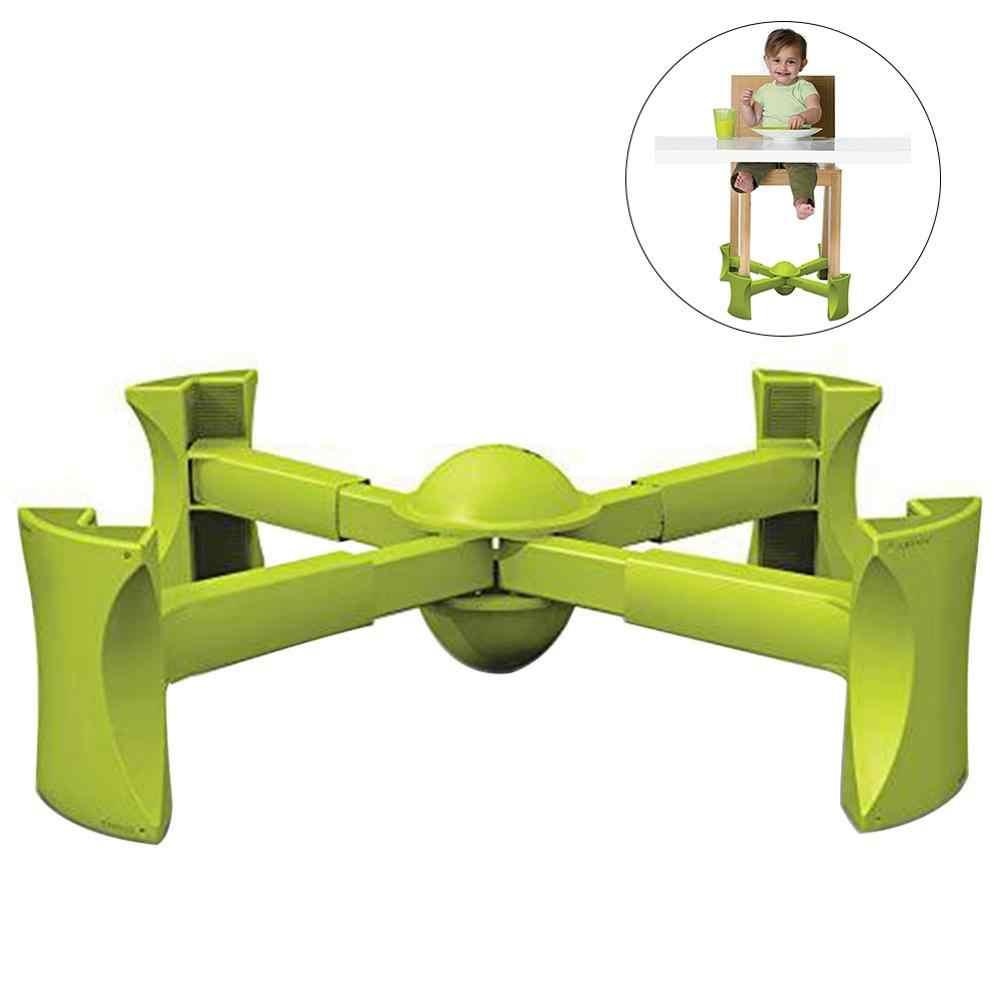 แบบพกพาเก้าอี้ Booster เดินทางที่นั่ง Anti - slip สำหรับเด็ก Lift ภายใต้เหมาะกับเก้าอี้ปรับความสูงกรอบ