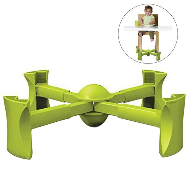 Portable Chair Booster Traveling Seat Anti-slip Mat For Child Lift Under Fits Most Chairs Adjustable  Heightening Frame 1