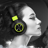 Mifo F2 Bluetooth Headphones Noise Canceling Stereo Bass Wireless Headset Subwoofer Sport Headphone With Microphone For