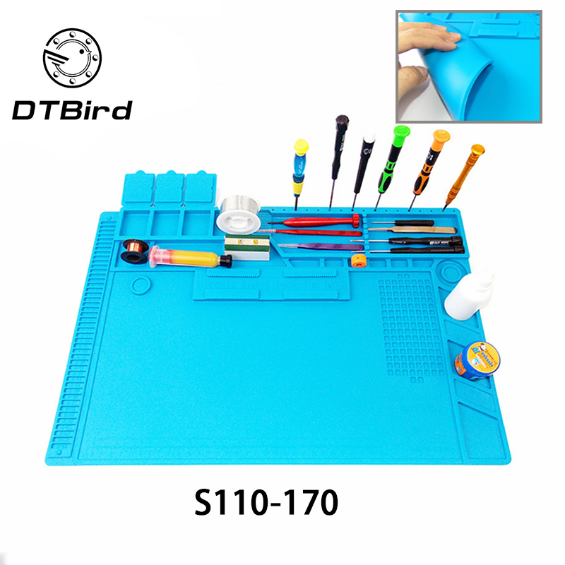 Heat Insulation Soldering Working Mat Heat-resistant Soldering Station Repair Insulator Pad Maintenance Platform Desk Mat