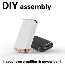 Artextreme PA01, amplificador de auriculares profesional HiFi, batería externa, Kits de montaje DIY, amplificador de Audio clásico de gran potencia para auriculares