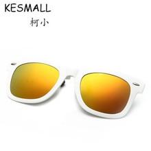 KESMALL Conducción Gafas Hombres de Las Mujeres de Clip Polarizado En las gafas TR90 Marco de Anteojos Fresco Lentes de Colores gafas de Sol Gafas De Sol Hombre YL450