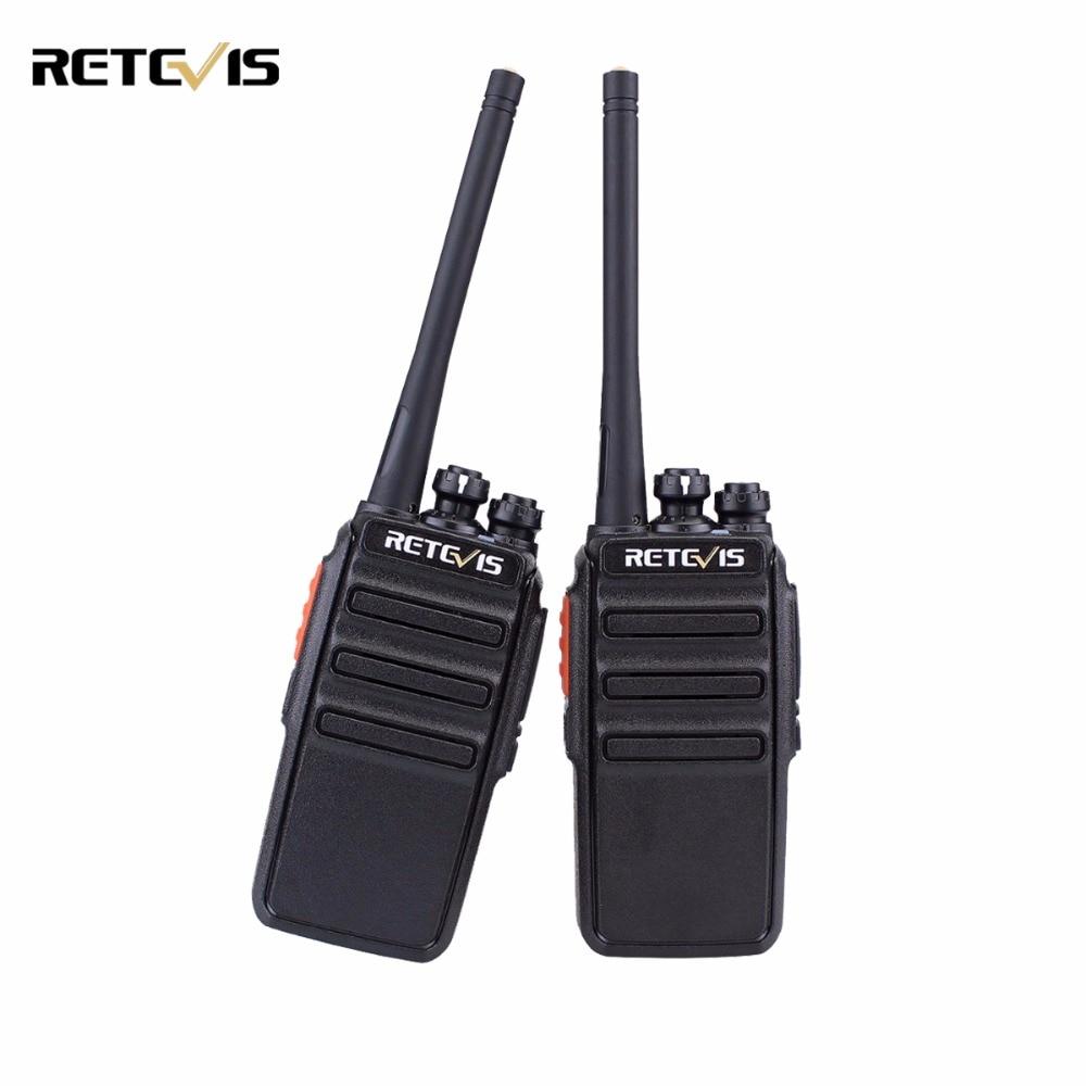 2 pz Retevis RT24 Walkie Talkie PMR446 UHF 0.5 w Licenza VOX Scansione Scrambler Ham Radio Transceiver Hf