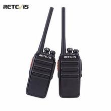2PCS Retevis RT24 Walkie Talkie 0.5W / 2W UHF 400-470MHz PMR446 Litsentsivaba VOX skaneerimine kahesuunaline raadio ham Hf saatja A9123