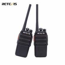 2 piezas Retevis RT24 Walkie Talkie 0.5 W / 2 W UHF 400-470 MHz PMR446 sin licencia VOX Scan Two Way Radio Ham Hf Transceptor A9123