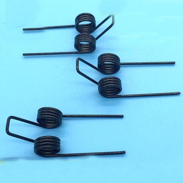 Starke doppelschenkelfeder drahtdurchmesser 1,2 außendurchmesser 10 ...