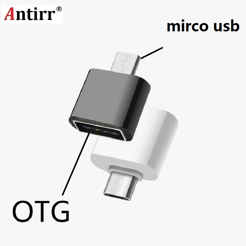 Micro USB To USB OTG Adapter Male To USB 2.0 Micro Adapter Converter For Samsung Xiaomi LG Huawei Android Mobile Phones