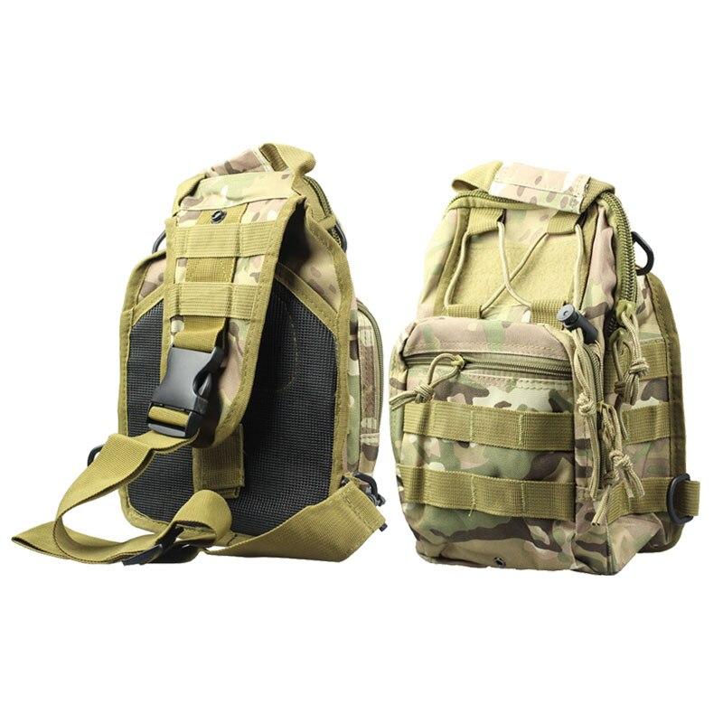 MOLAVE Men women backpack Fashion Molle Tactical Sling Chest Bag Assault Pack Messenger Shoulder Bag feb18