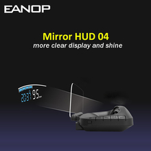 EANOP M40 HUD Headup display Car electronics Speed Projector electronics On Board Trip Computer OBD II Car Speedometer cheap CN(Origin) Wired 173*85*31MM 100KHZ 0 96W Mirror HUD head up display Unit Speed Over speed Alarm Clock Battery Voltage RPM Water tempe