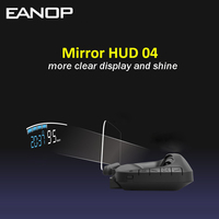 EANOP HUD M40 Car Head up display Speed Projector HUD projector On Board Trip Computer OBD II Diagnostics Car Speedometer