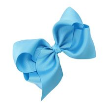 ABWE Best Sale 1 PC Sweet Children's Butterfly Knot Hair Clip (Blue)(China)