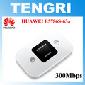 Desbloqueado huawei e5786 e5786s-63a 4g lte advanced cat6 300 mbps 4g router wi-fi hotspot móvel