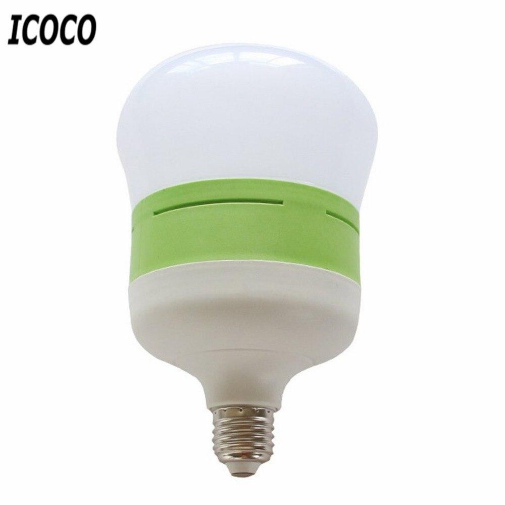 ICOCO E27 AC85-265V Energy-saving LED Gourd-shaped Light Bulb Household Strong Conductivity Anti-corrosion Lamp Bulb Super Light