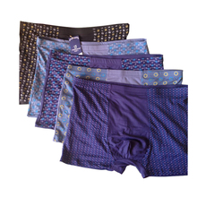 5Pack/Lots Big and Tall Extra Men Plus Size Underwear Boxer Underpants Trunks Shorts Stretch Breatheble 5XL 6XL 7XL