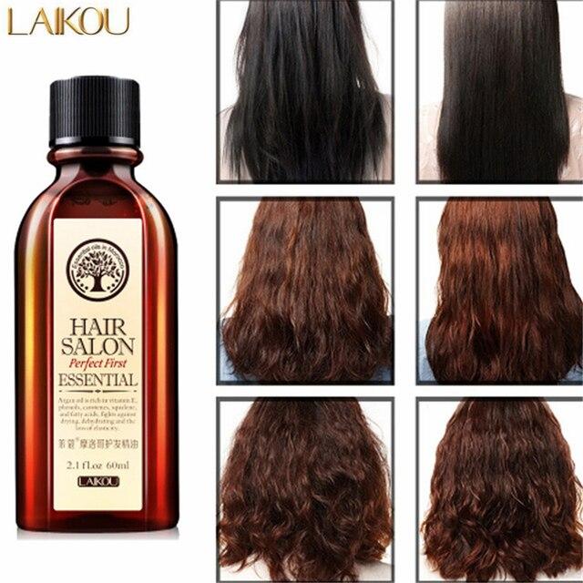 Laikou Morocco Pure Argan Oil Scalp Frizzy Dry Damaged Hair Repair