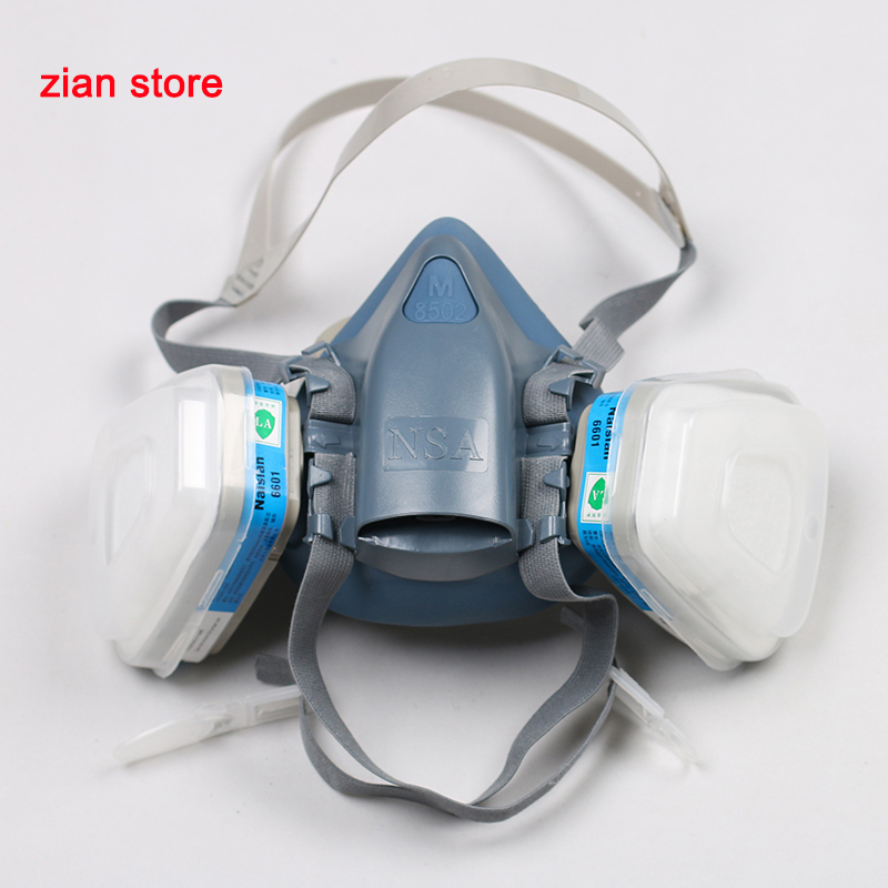 Back To Search Resultssecurity & Protection N3800 Anti-dust Facepiece Filter Paint Spraying Cartridge Respirator Gas Mask Clients First