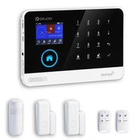 Wireless GSM WIFI 3G DIY Smart Home Security Alarm Systems Kits Infrared Motion Sensor Door Magnetism