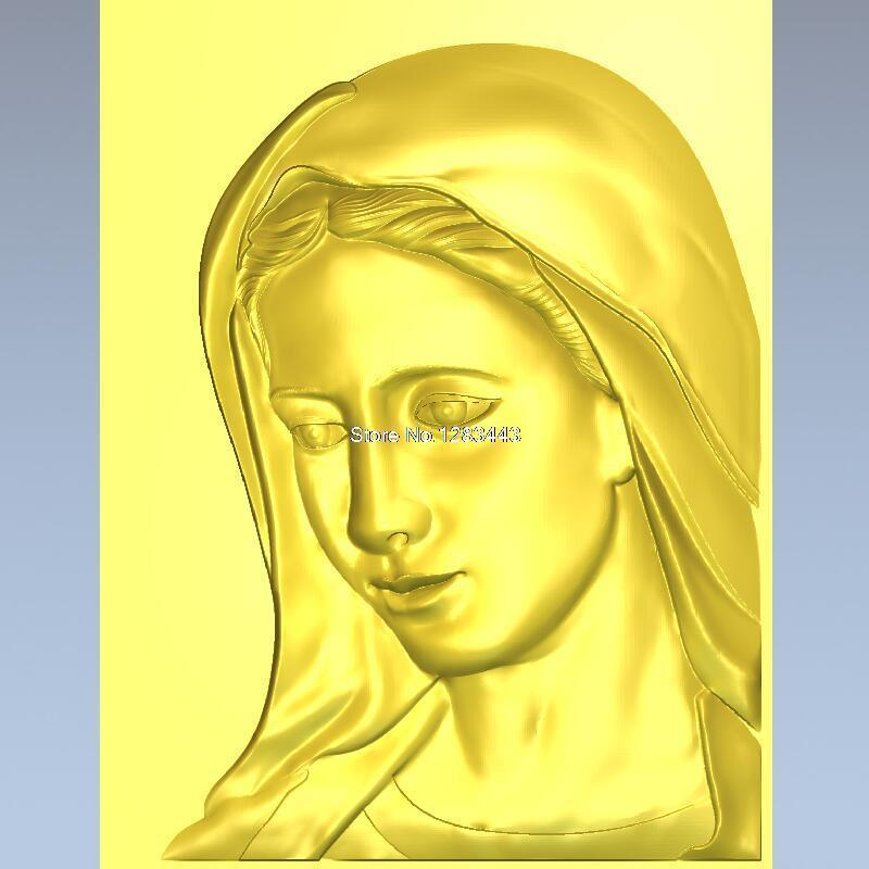 High Quality New 3D Model For Cnc 3D Carved Figure Sculpture Machine In STL File A Female Deity