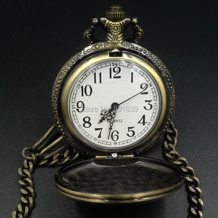 high quality nice watch brands for men promotion shop for high brand new collectable motorcycles case mens pocket watch chain bronze tone nice gift whole price h148