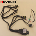 Car Styling Relay Harness12V for HID Xenon H1 H4 D2S H7 Bixenon Projector Lens Hi/Lo Beam Wiring Controller w/ Fuse Protection