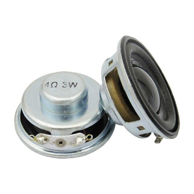 1 piezas 3 W 4R Mini altavoz altavoces pequeños diámetro 4 ohm 4 CM amplificador de potencia cuerno altavoz trompeta