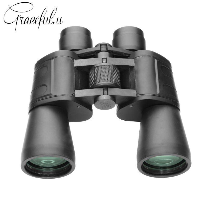 2017 New High-definition High Power Binoculars for Hunting Wide-angle Telescope Outdoor Camping Night Vision Binocular binocular telescope high definition high double night vision non infrared for children adult concert glasses