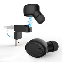 Ultralight Wireless Mini Invisible Earphone Magnetic Charging In Ear Earbuds Smallest Bluetooth Headset Support Handsfree Call