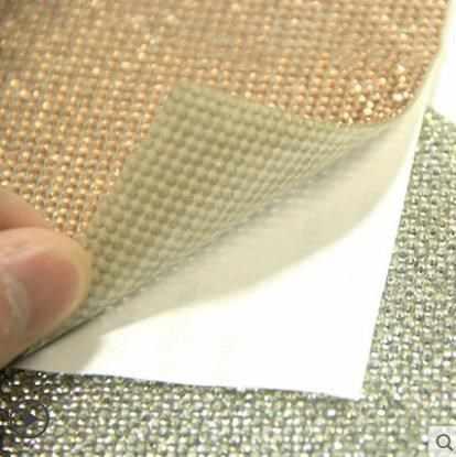 Voiture décoration diamant autocollants voiture intérieur cristal flash diamant autocollants voiture standard bricolage bâton perceuse personnalité-403