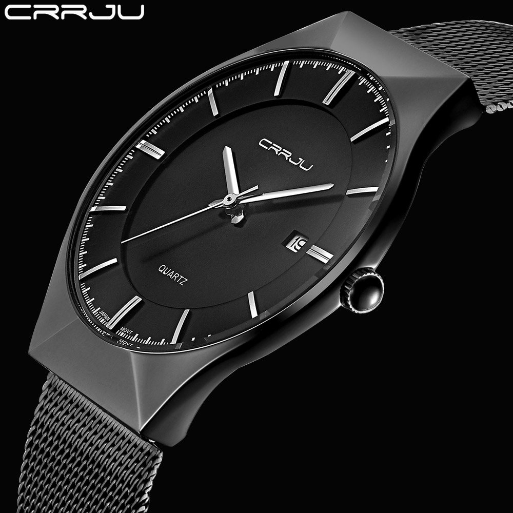 New Men Watches Top Brand Luxury Waterproof Ultra Thin Date Clock Male Steel Strap Casual Quartz Watch Men Wrist Sport Watch men watches top brand wwoor date clock male waterproof quartz watch men silver steel mesh strap luxury casual sports wrist watch