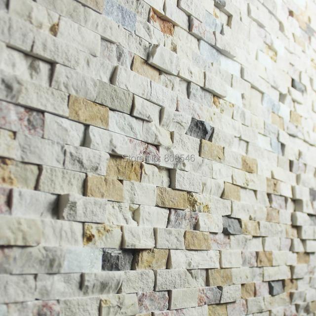 Einfache Natürliche Marmor Stein Mosaik Fliesen Für Wohnzimmer Halle  Esszimmer Wand Fliesen Dekoration MD SMR02