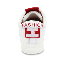 Hellenia 2018 Spring Summer New White Shoes Women Fashion Flat PU Leather shoe Female white Lacing Shoes Casual Hot-Selling