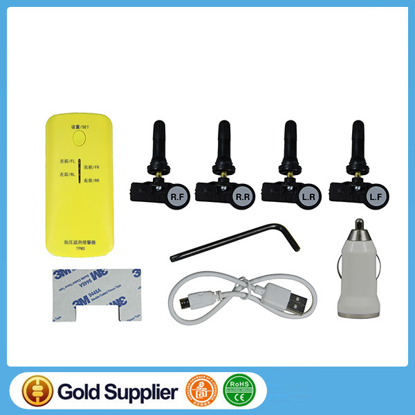 Smartphone Bluetooth TPMS APP Android & IOS  Tire Pressure Monitoring System (TPMS) for car 4 Internal Sensors tpms indicator