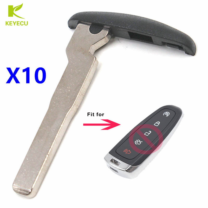 New Ford Lincoln Uncut Replacement Smart Remote Insert Key Blade for M3N5WY8609