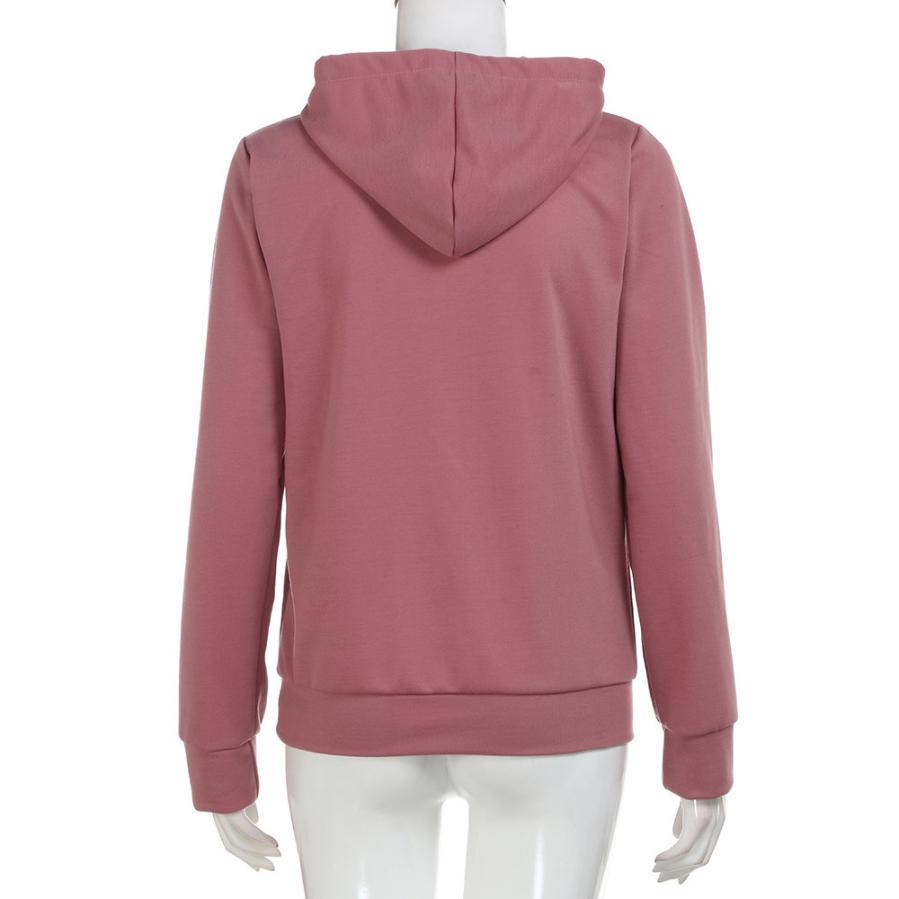 2efe5415fbe9c US $10.69 30% OFF DOUDOULU Women Sweatshirt Solid Basic Lightweight  Pullover Hoodie Sweatshirt Blouses Top Female sweatshirt Moletom  Feminino#WMEW-in ...