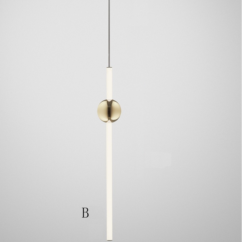 led Pendant Lamp cylinder light Kitchen Island Dining Room Shop Bar Counter Decoration Cylinder Pipe Pendant Light Kitchen Lamps2