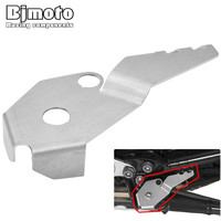 Bjmoto Motorcycle Sidestand Guard Side Stand Switch Protector Cover For BMW R1200GS LC R1200GS ADV 2014
