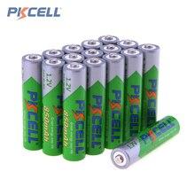 16 unids! pkcell 1.2 v aaa batería recargable 850 mah lsd precargadas ni-mh nimh aaa conjunto con 1200 ciclos
