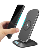 EtopLink New 3 Coils Wireless Charging Wireless fast QI Charger Dock Desk Holder for IPhone X Samsung Galaxy S8 S7 Edge Note 8