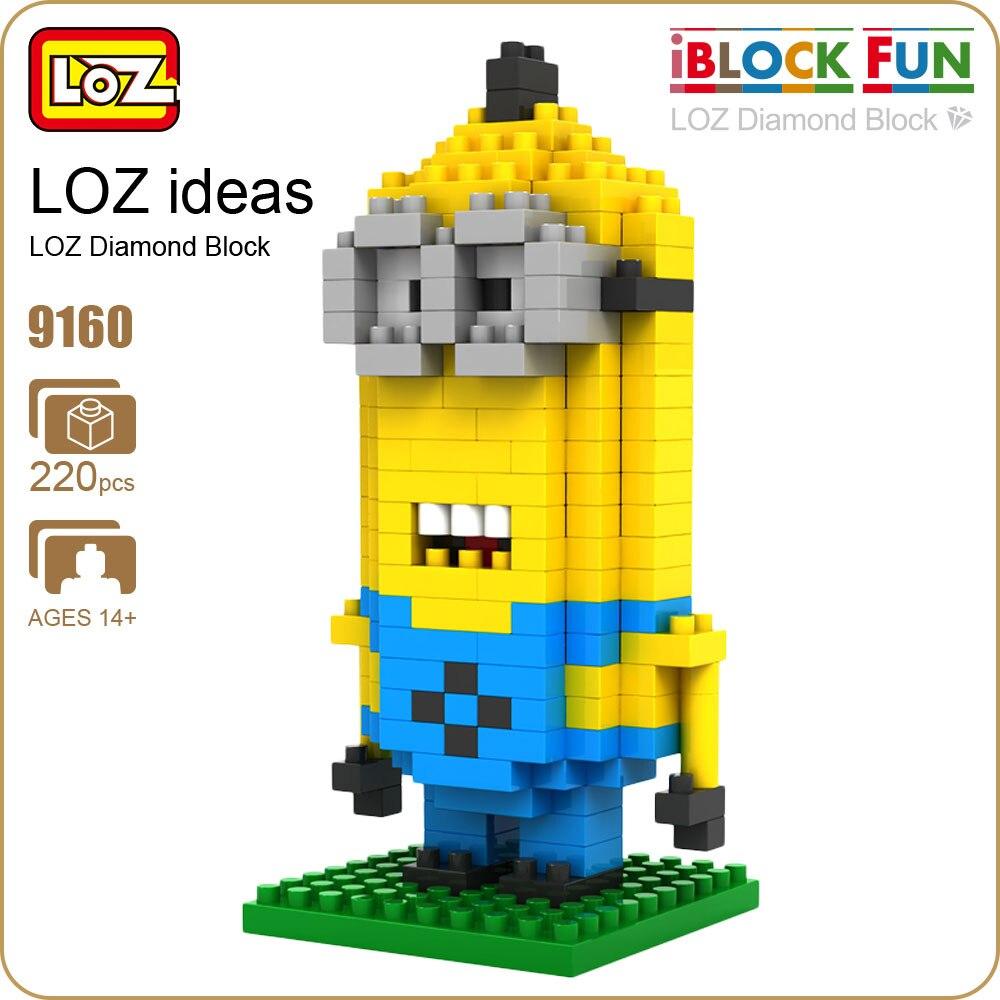 LoZ мини алмазные блок фигурку аниме милые куклы фильм ТВ дешевые игрушки Рисунок Пиксели модель Micro блока мультфильм Nano ПЭТ 9160