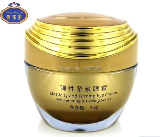 Envío libre Liangbangsuelasticity y reafirmante ojos crema rejuvenecedora peeling y serie círculo ojo eliminación de ojos bolsa