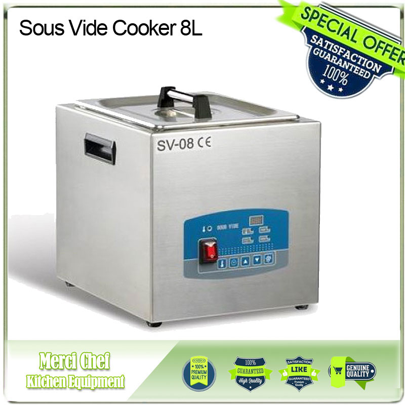 2017 New arrival Sous Vide Cooker 8L 85 degree Constant Temperature Cooking with Microcomputer Control for Vacuum-packed Meat hzdz microcomputer temperature control switch black 5v
